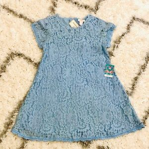 FOREVER 21 Girls Lace Flare Dress - Size 11/12